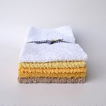 VINTAGE CHENILLE Half Fat Quarters, Quilting, Patchwork #6 Yellows