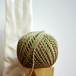 Baker's Twine {12ply} Pink + Green {20.0m} | DIY Supplies | Striped String