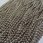 10 x 60cm antique silver ball chains