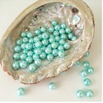 Mint Aqua Beautiful Pearl Beads