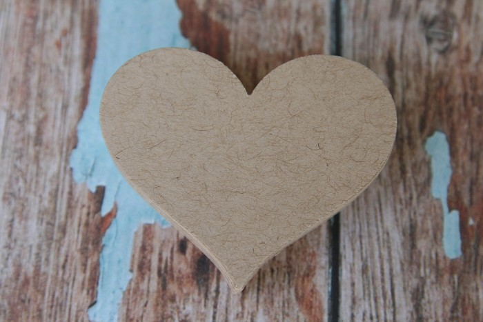 30 Kraft Hearts ~ DIY projects ~ Decorations ~ Create Gift Tags