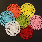7 Colourful Doilies