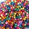 1000 3.5mm round wood Beads