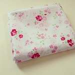 Shabby chic pink floral fabric