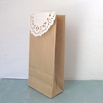 20 Kraft Paper Bags, Small