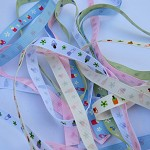 5 yards 9mm bottle/dummy grosgrain Ribbon