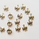 20pcs Antique Silver Elephant Charms