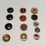Assorted Reclaimed Branded Buttons