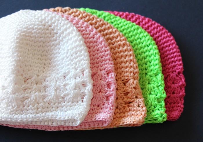 1 Crochet Baby/Toddler Beanie