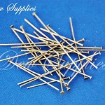 Iron Headpins earring pins, Antique Bronze Color, Size: about 1.6cm~5.0cm long,