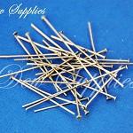 Iron Headpins earring pins, Antique Bronze Color, Size: about 1.6cm~5.0cm long,