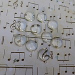 *SALE* 10 x 12mm Glass cabochons