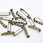 20 Brooch Pins- 26.5 mm