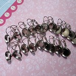 ++SALE++ 10 pairs Silver lever back earrings (20 pcs)