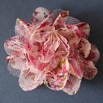 Floral Chiffon Flower