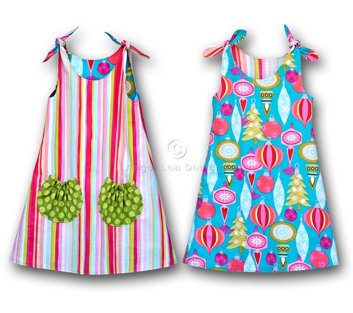 Reversible Tie Top Dress Pattern  PDF Sewing Pattern and