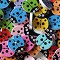 10 Bright and Funky Ladybird Buttons
