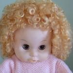 """35 cm (14 """") Handmade Mohair  Doll Wig"""