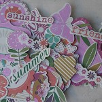 50 Pieces ~ Floral Die Cut Shapes ~ Ready to Post