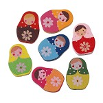 10 Babushka Spacer Beads