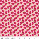 1.8 mtrs - Strawberries in Pink from Sweetcakes by Doodlebug Designs