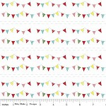 1mtr - Buntings in Multi from The Simple Life by Tasha Noel from Riley Blake