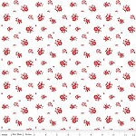 95cms - Floral in Red from The Simple Life by Tasha Noel from Riley Blake