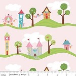 80cms - Main in Pink from Happy Ever After by Sandra Workman Designs