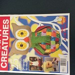Never used patterns in tact CRAFTY CREATURES 25 fabulous projects to make