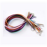 10 x Silk Cord Necklace Random Colors