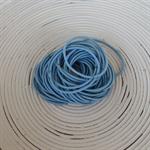 25 x Light Blue Hair Ties/Elastics