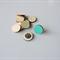 10 X 15mm round wooden tiles