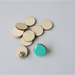 10 x 20mm wooden round tiles shapes