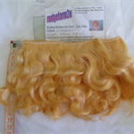 Sunburst wefted mohair strip