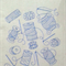 Machine Embroidery Quilt/Craft Blocks Needle and Thread  Medley Design