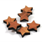 Laser Cut Supplies-6 Pieces.12 mm Wide Stars -Sustainable Wood