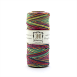 Hemp variageted twine Rainbow colour 62m spool