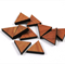 Laser Cut Supplies-6 Pieces.12 mm Wide Triangle -Sustainable Wood