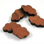 Laser Cut Supplies-6 Pieces.12 mm Wide Cloud -Sustainable Wood