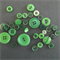 Green Buttons - Assorted sizes and styles
