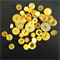 Yellow Buttons - Assorted sizes and styles