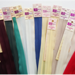 Bulk lot 18 inch invisible zips