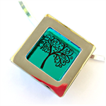 Interchangeable Pendant Frame Square with Square Window