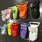 5 x plastic dummy/toy clips - choose colour