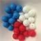 10 x Silicone Teething Beads - 12mm Sphere - choose colour