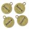 10 Antique Bronze Charm Pendants ~Inspire/ Believe