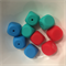 5 x Silicone Teething Beads - Dice shape - choose colour