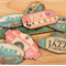 9 Jazz, Music Flat Back Embellishments