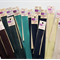 Bulk lot 10 inch invisible zips