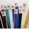 Bulk lot 12 inch invisible zips